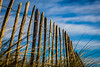 Dreaming of Summer (cs82photography) Tags: blue ireland sky holiday beach grass lines canon fence landscape clare 6d doonbeg