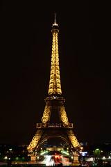 Eiffel Tower (joshuawoodhead) Tags: paris tower night eiffel