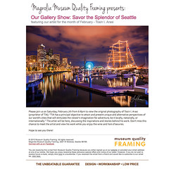You're Invited! (TIA International Photography) Tags: show seattle art museum photography photo artwork gallery quality exhibit event reception magnolia framing showcase