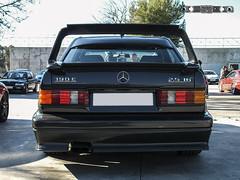 Mercedes-Benz 190E 2.5-16 Evolution II '91 (GonzaloFG) Tags: detail slr ford chevrolet car sport skyline honda spain italia nissan evolution ferrari camaro mclaren enzo bmw gto jaguar mustang m3 ducati audi lamborghini rs m6 m5 challenge avant v8 rs2 spotting s2000 e30 nsx gallardo amg drifting rs4 typer gtr trackday murcielago etype quattro gt40 f40 r8 f12 rs6 v12 f50 cosworth nismo e46 r34 e36 berlinetta superleggera 458 899 m3csl desmosedici panigale ftype 275gtb rs3 e92 worldcars circuitodeljarama stralade m235i