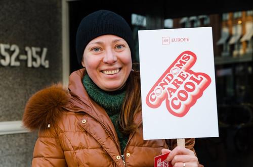 International Condom Day 2015: Amsterdam