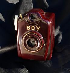 Bilora Boy (Mycophagia) Tags: camera boy film vintage german bilora