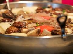 Mongolian Hot Pot (Mildred Alpern) Tags: winter vegetables soup hotpot