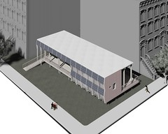 NY City Tech Solar Decathlon 2015 House Rendering: Elevation 2 (Dept of Energy Solar Decathlon) Tags: house design solar rendering solardecathlon nycitytech sd2015