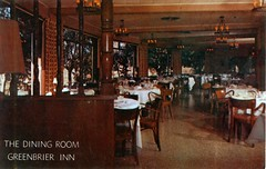 Greenbrier Inn dining room, Garden Grove (Orange County Archives) Tags: california history postcard historical southerncalifornia orangecounty gardengrove orangecountyarchives orangecountyhistory
