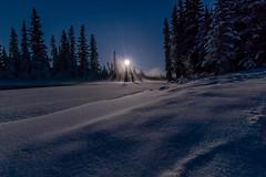 Clearwater Moon (bobby.stocks) Tags: trees winter sky moon snow ice water alaska night creek landscape nikon fullmoon tokina d5300