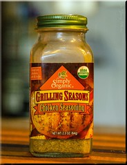 365 Days In Color-Chicken Grilling Spice (It Sure Feels Like Fall, Love It!!!) Tags: green chicken bottle bokeh spice organic grilling seasoning lid usda onthecounter burntsiennablack 365dincolourfebruary2015231365022715