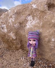 At the beach (pacific_rin) Tags: beach doll purple icy megipupu