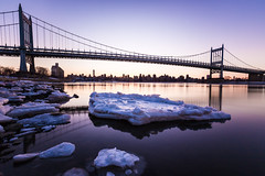 Robert F. Kennedy Bridge (vincent.limshowchen) Tags: longexposure sunset newyork unitedstates queens astoria astoriapark robertfkennedybridge queensscape