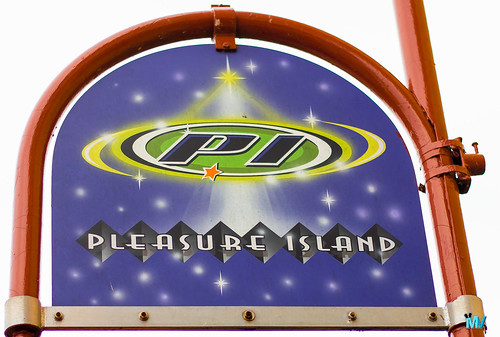 Pleasure Island Sign