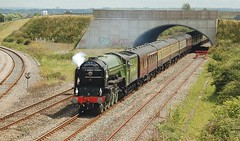 "The ""Towy Tornado"" July 2009 (goweravig) Tags: uk wales carmarthenshire steam steamlocomotive 60163 llandeilojunction towytornado swml"