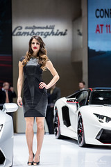 Hostess - Geneva Motor Show 2015 (Guillaume P. Boppe) Tags: auto woman cute mannequin lady canon booth march stand nice women automobile day geneva geneve femme models days professional booths 5d salon motor jolie hostess press lamborghini professionals motorshow genf palexpo presse mk3 modle 2015 mignonne pressday eos5d htesse hotesse pressdays hotesses modles boothprofessionals 5dmk3