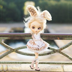 Lilly (Oliver Pietern) Tags: rabbit bunny fashion easter square toy doll outdoor sew lolita squareformat customized groove fashiondoll mdchen hase pvc sewn osterhase pullipdoll berryland grooveinc uploaded:by=instagram lunaticqueen