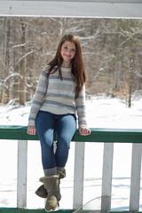 KaleyJane (superphreak169@gmail.com) Tags: park winter portrait woman snow beautiful beauty fashion female virginia model pretty unitedstates modeling outdoor clifton individuals