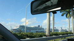 Miami: Port of Miami is a busy Cruising Harbour (Traveller-Reini) Tags: city usa america port florida miami ships atlantic cruiseship eastcoast