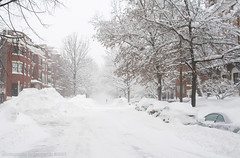 Calm After the Storm (imartin92) Tags: winter snow storm boston square massachusetts blizzard kenmore