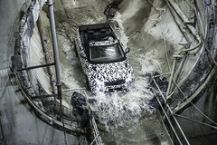 Range Rover Evoque Convertible Revealed Testing (landrovermena) Tags: uk london convertible testing prototype winner suv rangerover evoque halewood rangeroverevoque premiumcompactsuv undergroundtesting evoqueconvertible
