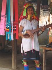Paduang Playing String Instrument