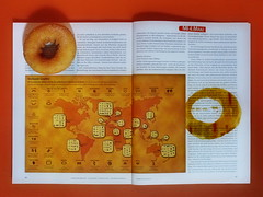 """an apple a day keeps the doctor away - An ENSO (Japanese: circle, kreis) a Day ..."" 4. März 2015: ""Stone Age Graffiti"" Article about symbols in cave paintings - Circle: ink J. Herbin ""Ambre de Birmanie"", Doughnut: Cinnamon, Dunkin` Donuts Mariahilferstr"