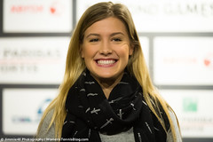 Eugenie Bouchard (Jimmie48 Tennis Photography) Tags: tennis antwerp wta 2015 eugeniebouchard bnpparibasfortisdiamondgames