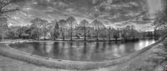 Duck pond (sidibousaid60) Tags: uk autostitch panorama buxton derbyshire paviliongardens
