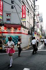 Tokyo - Akihabara (*maya*) Tags: streets anime japan shopping comics tokyo cosplay manga videogames electronics akihabara cosplayer otaku akiba retrogames maid giappone 秋葉原 maidcafe