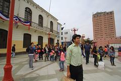 Recorriendo las calles de Arica