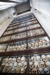 074-Cambodia (Beverly Houwing) Tags: skulls cambodia torture phnompenh imprisonment interrogation khmerrouge polpot kampuchea choeungek killingfield