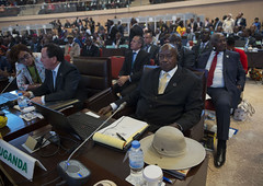 Opening Ceremony of the 27th African Union Summit   Kigali, 17 July 2016 (Paul Kagame) Tags: kagame rwanda au africa african union kigali convention centre summit afircan