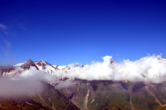 nebelschicht (michael pollak) Tags: grosglockner hochalpenstrasse alpen alps sterreich anreisetag familienausflug glocknergruppe