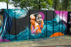 Girl safety vest (Dutch_Chewbacca) Tags: graffiti berenkuil eindhoven rockcity art 040 noordbrabant netherlands dutch holland spray can colors canon dlsr sigma 23 july 2016 summer saturday weekend pretty street legal go mad graffixnl