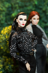 "Aquatalis's "" Fantastic Four "" Elyse Jolie Collection (AlexNg & QuanaP) Tags: elyse jolie fashion royalty flawless engaging dark swan montaigne market fantastic four aquatalis collection"