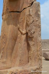 Hittie wife of Ramses II (konde) Tags: statue ancient queen hieroglyphs ramsesii cartouche tanis newkingdom 19thdynasty hittie puduhepa maathorneferure maatnefrure hattusiliiii