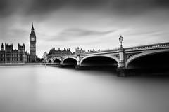 Westminster bridge & Big Ben (Geoffrey Gilson) Tags: uk bridge england white black london westminster silver big long ben united kingdom formatt exosure efex hittech