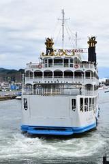 I had verry fun of going on ferrry between Sakurajima and Kagoshima !! (junjunohaoha) Tags: ferry sakurajima
