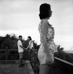 (Ah - Wei) Tags: people bw 120 6x6 tlr film rolleiflex hc110 medium expired 35f luckyshd