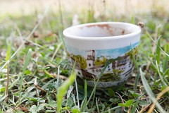 Coffee in nature (markopoulou) Tags: coffee mug grass