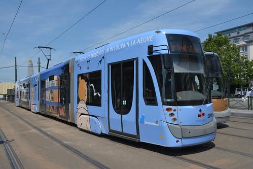 Tram Tintin.