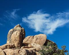 Rock and clouds (Oleg S .) Tags: california travel usa cloud nature rock joshuatree