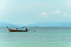 Long Boat (ray_anthony) Tags: ocean travel sea holiday beach water thailand island boat nikon asia southeastasia paradise tropical longboat nikkor phuket islandlife d5100