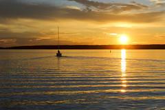 Segelbt i solnedgng (Anders Sellin) Tags: bt hav skrgrd sverige sweden vatten archipelago baltic boat sea sj stockholm water stersjn skrgrd svartlga bt sj stersjn
