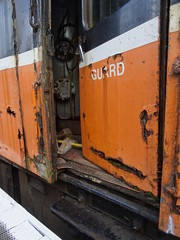 Inch Abbey, 10th of July 2016 (nathanlawrence785) Tags: county abbey station train ir inch diesel railway down steam generator trailer van ie boiler nir halt cie mk1 downpatrick 3189 dcdr