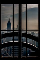 City Window (Alex Grn) Tags: 18250 sigma 70d canon nyc empirestatebuilding newyork skyscraper street building travel sky city architecture window