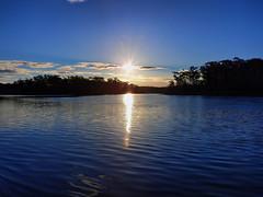 Lake ripples (elphweb) Tags: hdr lake sunset lakeedge tranquil water coastal