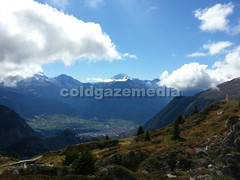 20150920_121822 (coldgazemedia) Tags: switzerland valais wallis alps alpine belalp mountain swissalps aletsch greataletsch photobank stockphoto bluesky blue landscape scenery outdoor hiking hikingtrails swissvillage mountainhuts swisshuts alpinehut panorama naters tree snowmountain