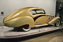 The New Petersen Automotive Museum (USautos98) Tags: 1937 delage d8 120 coupe aerosport letourneuretmarchard