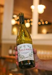 Cotes du Rhone 2013 (luyaozers) Tags: nyc wine manhattan food restaurant upscale luxury dining yummy park avenue summer alcohol bottle
