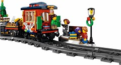 LEGO 10254 Winter Holiday Train (hello_bricks) Tags: creator creatorexpert legocreator lego train 10254 winter holiday wintervillage winterholidaytrain rail rails toy jouet toys minifigures