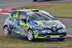 Clio Cup - Q (13) Rory Collingbourne runs off (Collierhousehold_Motorsport) Tags: cliocup renault clio renaultclio toca snetterton wdemotorsport pyro cooksport teambmr