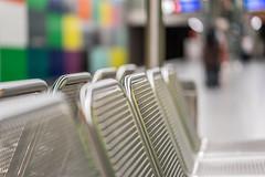 Take a Seat (*Capture the Moment* (OFF till End June)) Tags: 2016 bokeh dof fotowalk georgbrauchlering munich münchen schärfentiefe sonya7ii station subway tiefenschärfe ubahn zeissbatis1885